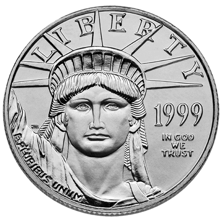 Picture for category 1/2 oz American Platinum Eagle