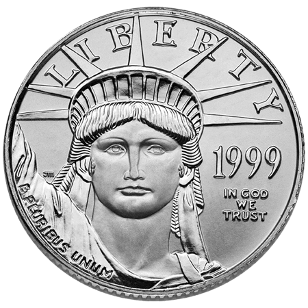 Picture for category 1/4 oz American Platinum Eagle