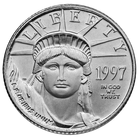 Picture for category 1/10 oz American Platinum Eagle