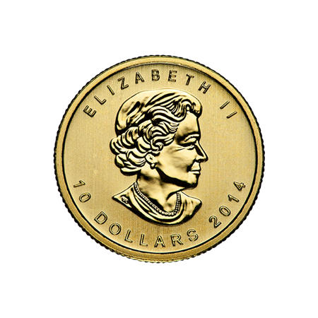 Picture for category 1/4 oz Canadian Gold Maple Leaf