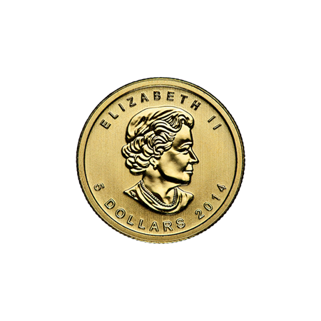 Picture for category 1/10 oz Canadian Gold Maple Leaf