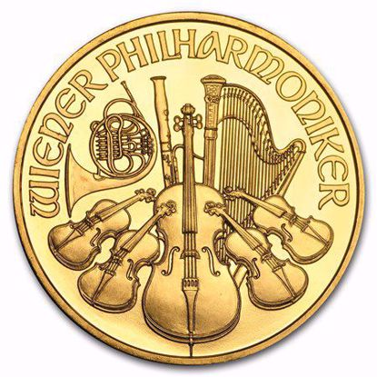 Picture of 1 oz Austrian Gold Philharmonic (Random Year)