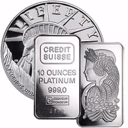 Picture for category Platinum Bullion