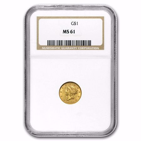 Picture for category Type 1 Liberty Gold Dollar