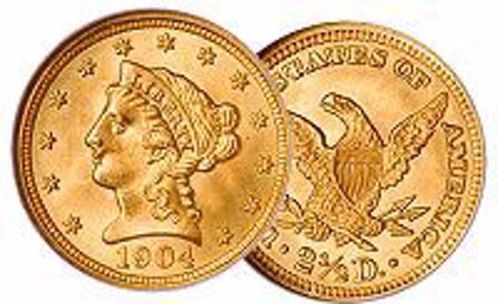 Picture for category Liberty Gold Quarter Eagle