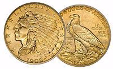 Picture for category Indian Gold Quarter Eagle