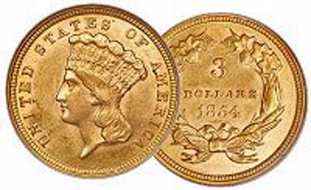 Picture for category Three Dollar Gold