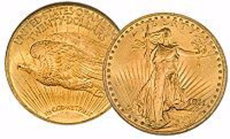 Picture for category St. Gaudens Gold Double Eagle