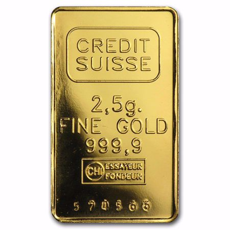 Picture for category 2.5 Gram Gold Bars