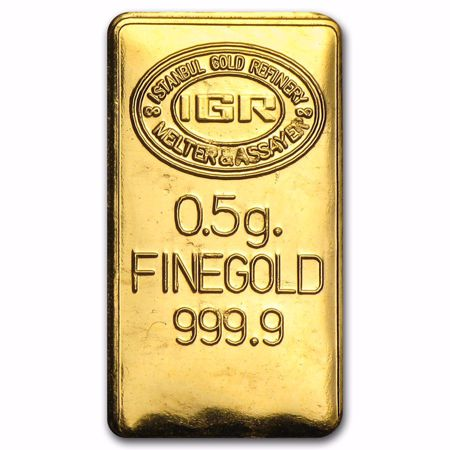 Picture for category .5 Gram Gold Bars