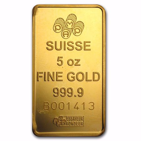 Picture for category 5 oz Gold Bars