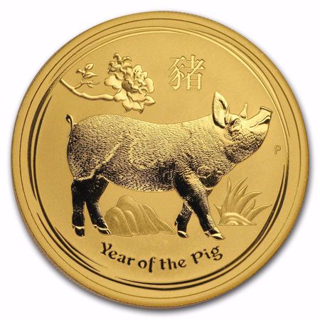 Picture for category 2019 Australian Gold Lunar Year of the Pig