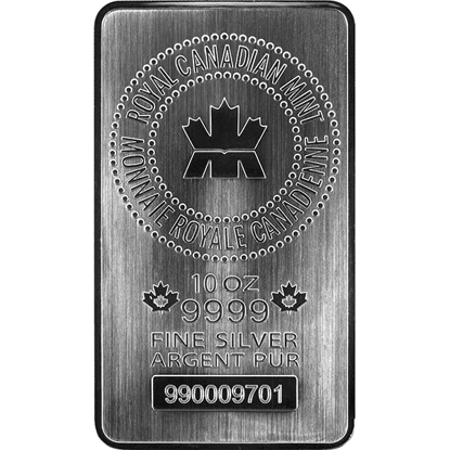 10-oz-royal-canadian-mint-silver-bar_obverse