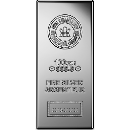 100-oz-royal-canadian-mint-silver-bar_obverse