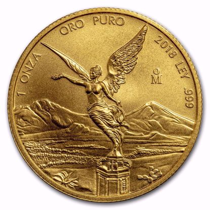 Picture of 2018 1 oz Mexican Gold Libertad
