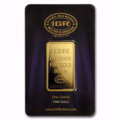 Picture of 1 oz Gold Bar (Secondary Market)
