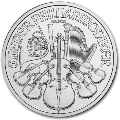 Picture of 1 oz Austrian Silver Philharmonic (Random Year)
