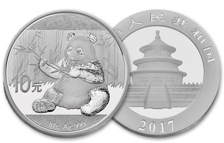Picture for category Silver Chinese Pandas