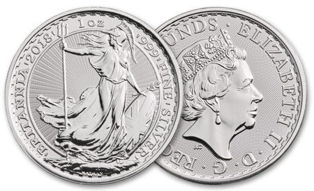 Picture for category Silver British Coins