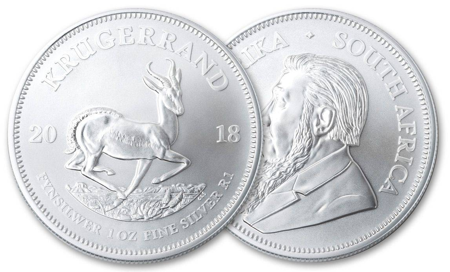 Picture for category Silver South African Krugerrands