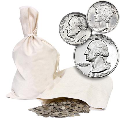Picture of 90% American Silver Coins (Random Denominations)