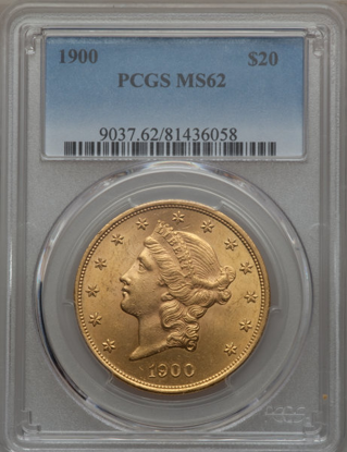 Picture of $20 Liberty Gold (1849-1907) PCGS/NGC MS62 (Random Year)