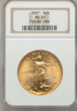 Picture of $20 Saint Gaudens With Motto PCGS/NGC MS63