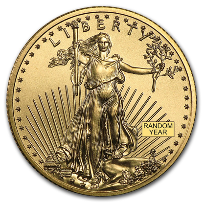 Picture of 1/4 oz American Gold Eagle (Random Year)