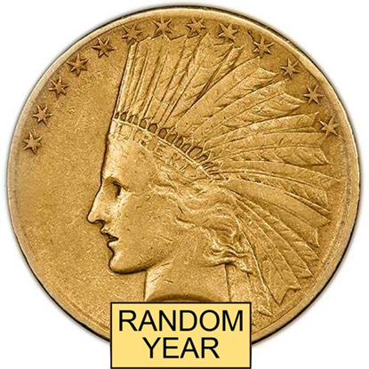 Picture of $10 Gold Indian VF (1907-1933) (Random Year)
