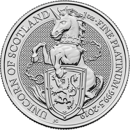 Picture for category Platinum British Coins
