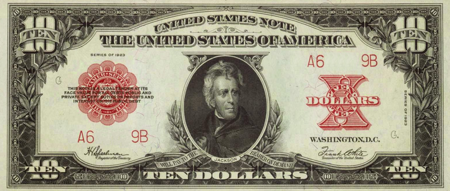 Picture for category Legal Tender Notes