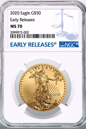 Picture for category Certified Gold American Eagles