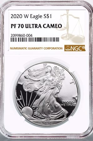 Picture for category Certified Silver American Eagles