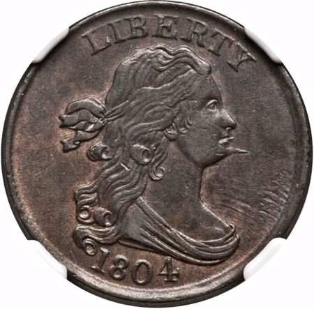 Picture for category Draped Bust Half Cent (1800-1808)