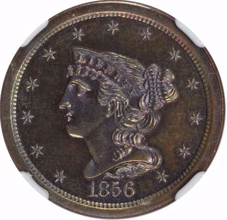 Picture for category Braided Hair Half Cent (1840-1857)