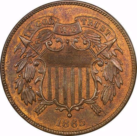 Picture for category Two Cent Piece (1864-1873)