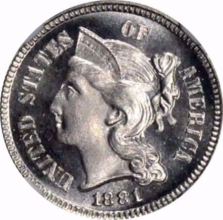 Picture for category Three Cent Nickel (1865-1889)