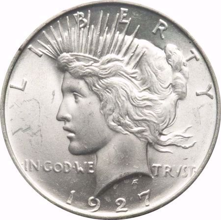 Picture for category Peace Dollar (1921-1935)