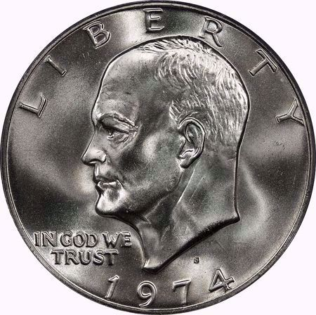 Picture for category Eisenhower Dollar (1971-1978)