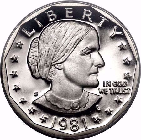 Picture for category Susan B. Anthony Dollar (1979-1999)