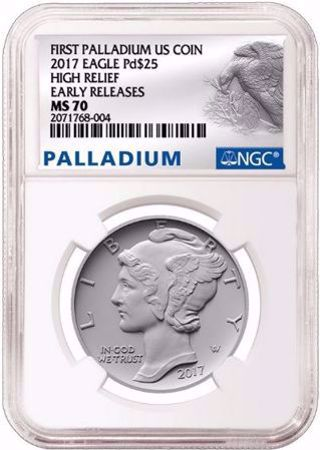 Picture for category Palladium $25 Eagle (2017 to Date)