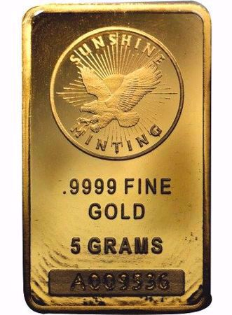 Picture for category 5 Gram Gold Bars