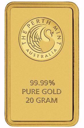 Picture for category 20 Gram Gold Bars