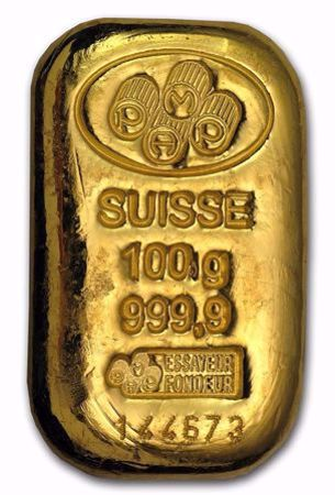 Picture for category 100 Gram Gold Bars