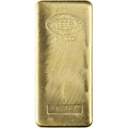 Picture for category 1 Kilo Gold Bars