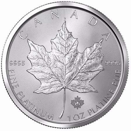 Picture for category Platinum Canadian Maple Leaf