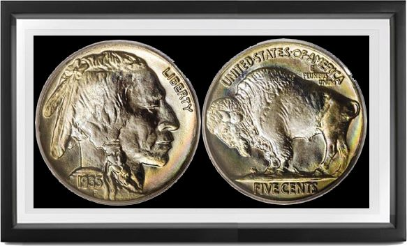 Buffalo Type 2 Nickels